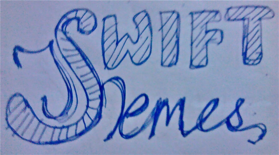 Concept 1 of SwiftThemes logo