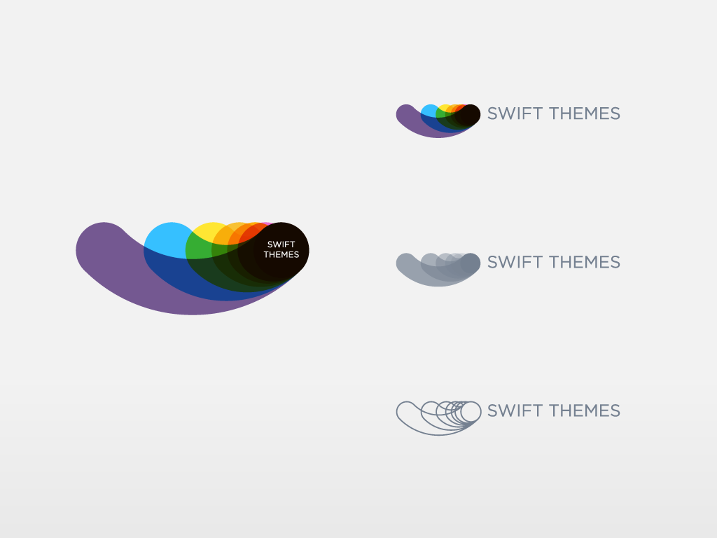 Design process of Swift Themes logo