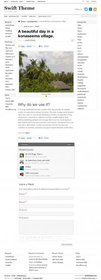 Swift single page demo