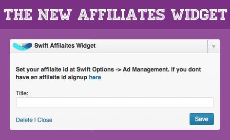 Affiliates-Widget