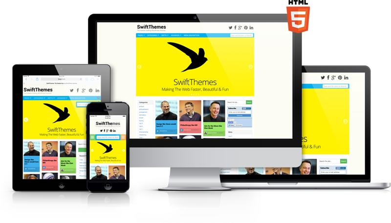 Swift} The Fastest SEO & Responsive WordPress Themes