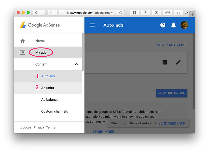 Ad types in Google AdSense