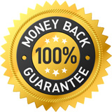 30 Day money back guarantee.
