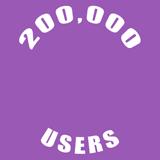 200000 Users